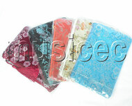 wholesale 5pcs Mixed colors Jewelry silk bags handbag zipper pouches T117A08