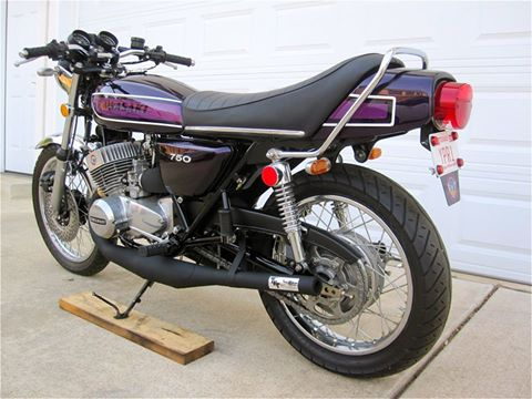 1975 Kawasaki  H2 750 Triple