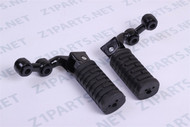 Z1900, KZ, Front Foot Rest - Pegs Pair