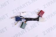 center wiring harness - battery z1 900, kz900, kz1000