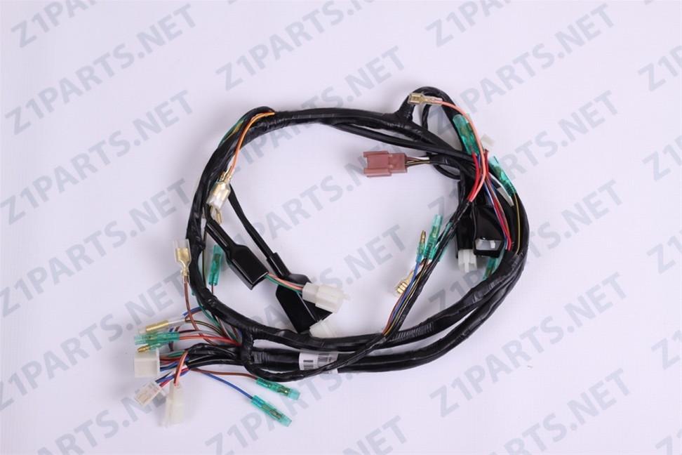 main wiring harness kz900 a4 a5 b1 ltd 76 77 Kawasaki Z1 Classic