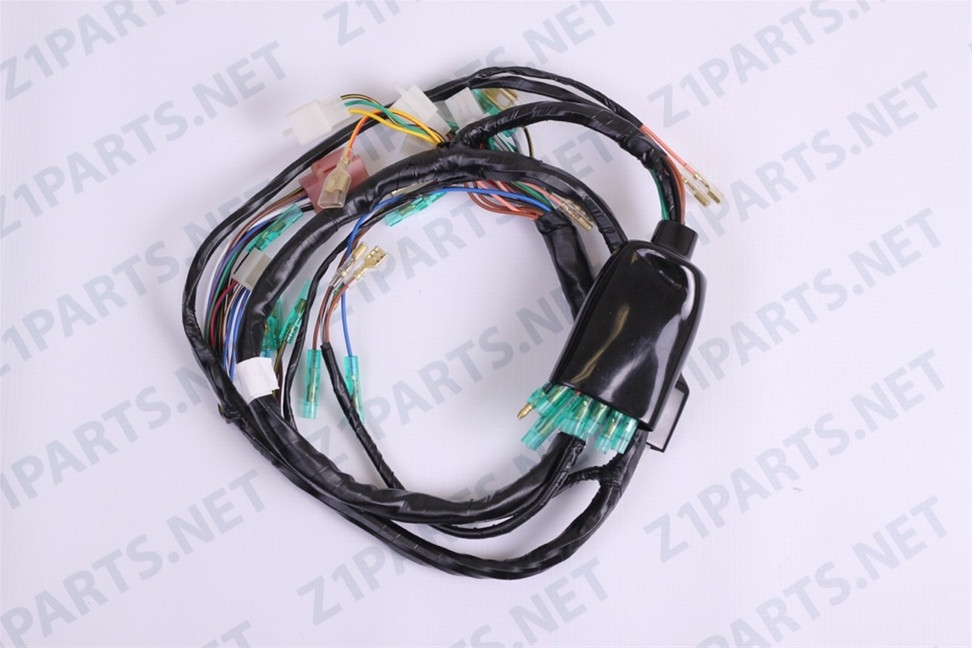 kz1000 main wiring harness 77-78 motorcycle wires & electrical ...  tamer