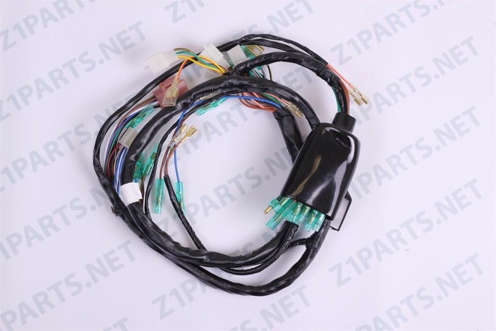kawasaki kz1000 parts main wiring harness 26001 145
