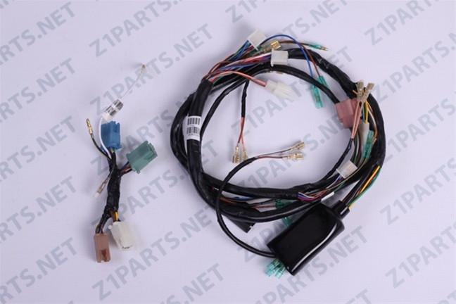 kawasaki kz1000 center and main wiring harness 26002 057 26001 145