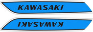 Complete Decal Set H1 500 1975 Triple- Sky Blue