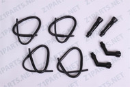 Ignition Coil Wires With Spark Plug Caps-Z1 900 KZ900 / 1000