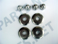 Z1, KZ, H1, KH, S1, S2 Front Foot Peg / Rest - Mounting Hardware