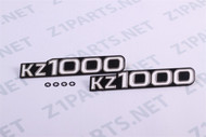 KZ1000 Side Cover Emblems - SET