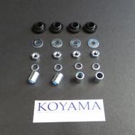 KZ1000, KZ900, KZ750, KZ650 Gauge Bracket Grommet Set