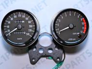 Z1 900 1974-75 Speedometer & Tachometer Set Eu Version With Km