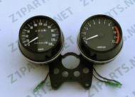 Gauge Set -  1973 Z1 Speedo & Tacho w/ Km