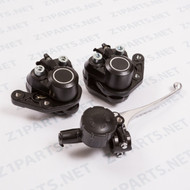 Z1 Dual Disc Brake - Caliper & Master Cylinder - Combo Set