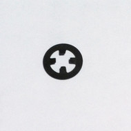 3mm Emblems Push Nut / Side Cover Emblem Lock Nuts