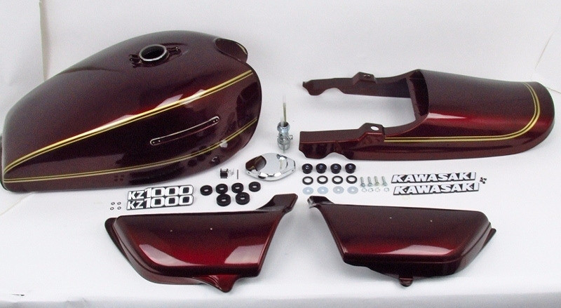 Painted Body Set 1977-1978 KZ1000