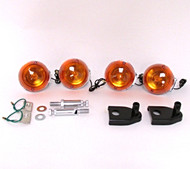 Honda  Front & Rear turn signal set Combo - Single Wire