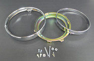 Kawasaki  Head Light Rims set /Z1 900, KZ650, KZ750, KZ900, KZ1000 ,H2 ,KH