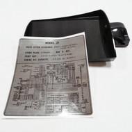 Document Tool Tray Complete Set w/ Decal Z1 KZ