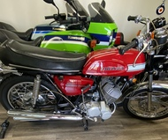Kawasaki 1970 H1 500 Red PRIVATE COLLECTION