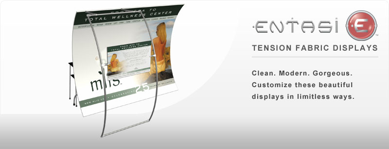 Entasi™ Tension Fabric Displays