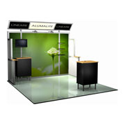 Alumalite Lineare™ Trade Show Booths