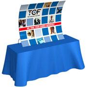 Tension Fabric Tabletop Displays