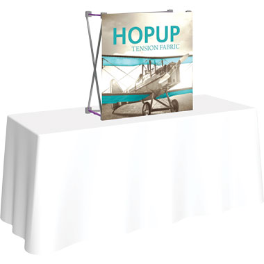 Hop Up™ · 1×1 Straight Tabletop Display