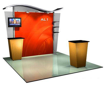 Alumalite Classic™ Trade Show Booths