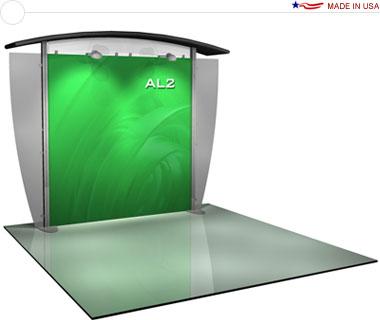 Alumalite Classic 10′ Trade Show Booth - AL2