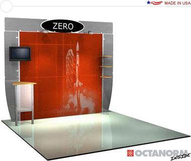 Alumalite Zero™ • AZ1 10′ Trade Show Booth
