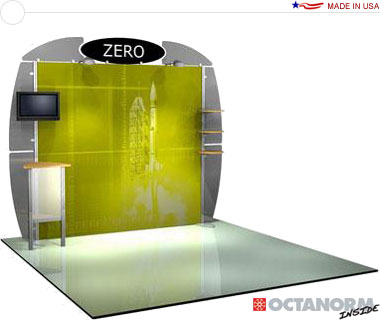 Alumalite Zero™ • AZ3 10′ Trade Show Booth