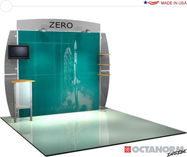 Alumalite Zero™ • AZ6 10′ Trade Show Booth