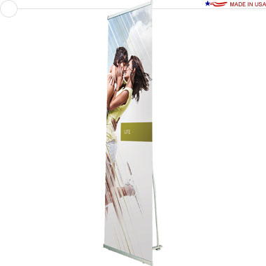 Lite 850 Retractable Banner Stand