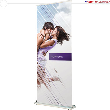 Supreme 850 Retractable Banner Stand
