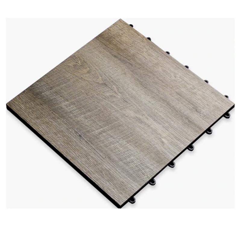 SnapLock™ Modular Flooring in Smoked Oak