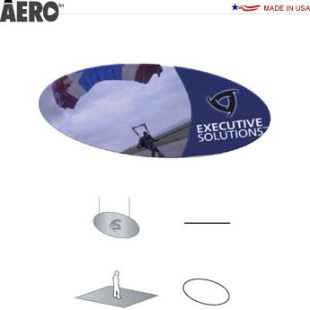 Aero™ Hanging Banner Sign • Ellipse