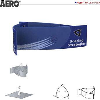 Aero™ Hanging Banner Sign • Pinwheel