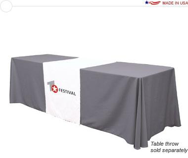 28″ Wide Table Runner w/ Full Color Logo Print