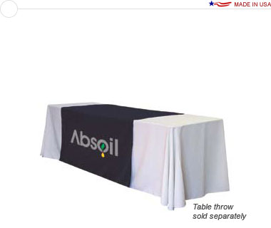 57″ Wide Table Runner w/ Full Color Logo Print