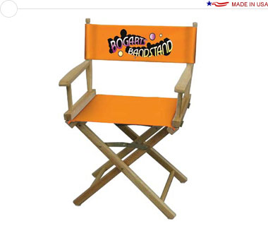 Director's Chair, Table-Height w/ Full-Color Imprint