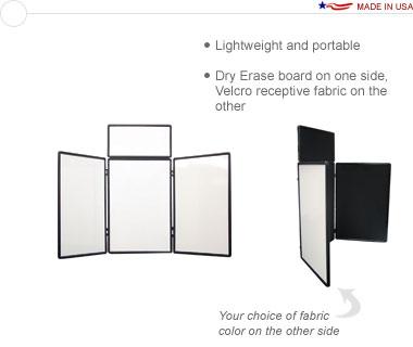 Show 'N Write™ 4′ Tabletop Display