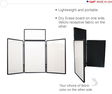 Show 'N Write™ 6′ Tabletop Display