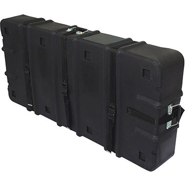 Hard Case w/ Wheels – 26.5″h × 10″d × 57″w