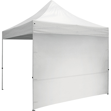 10′ Tent Full Wall · Unimprinted (White)