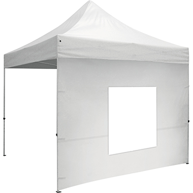 10′ Tent Window Wall · White
