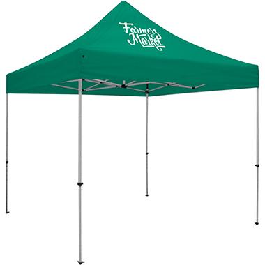 Deluxe 10′ Tent · One Imprint