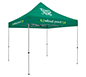 Deluxe 10′ Tent · Three Imprints