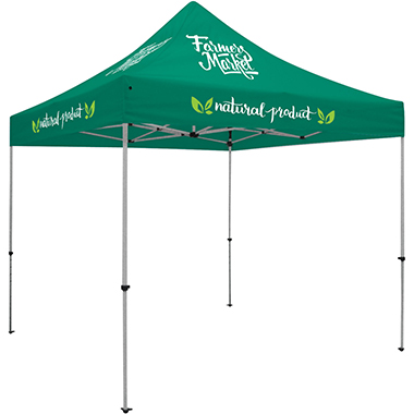Deluxe 10′ Tent · Six Imprints