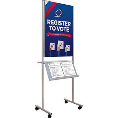 Impress™ Double-Sided Sign