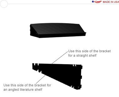 Arise™ Curved External Shelf