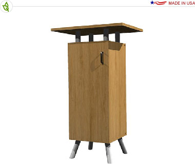 ECO-1C Sustainable Pedestal